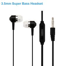 3.5mm Super Bass Stereo In-Ear Headset Earphone Headphone For Handy Mp3 Player