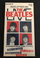 The Beatles - Live Ready Steady Go (VHS 2001) 12 Classic Tracks Lennon McCartney