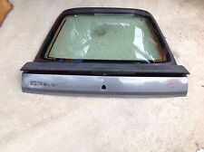 Ford Sierra Mk 2 Hatch Back Gary Rear Tale gate With Rubber Spoiler And Glass