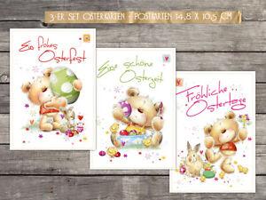 "15 Osterkarten  ""Ostern mit Pelle"" - Postkarten, 14,8 x 10,5 cm"