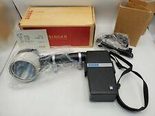 Vintage Singer Graflex Strob 250 Flash w/ Battery Box & Cable - Boxed Rare