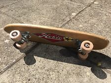 Old School Vintage 1960s Hobie Super Surfer Wooden Skateboard