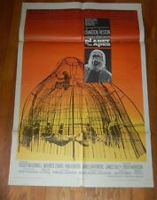 Planet Of The Apes Original Movie Poster 1968 Sci Fi