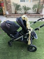 Baby Jogger City Select Lux Double Stroller Pram With 2nd Seat –