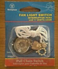 Fan Light Switch/Pull Chain - Westinghouse 77023 / USA FAST SHIPPING