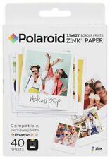 Polaroid POLZL3X440 3.5x4.25 inch Zink Photo Paper - 40 Sheet