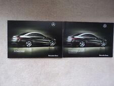 Mercedes-Benz E-Class Coupe (Incl. E250-350-500) Brochure Pack  2009 - Mint