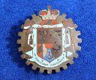 Vintage Purstenfum Liechtenstein Grille Badge Bumper License Topper Accessory
