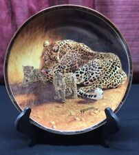 Nature's Caress - Gentle Touch - Collector Plate - Bradford Exchange