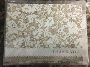 50 Count Studio His And Her Floral Style Thank You Cards & Envelopes Sealed Case