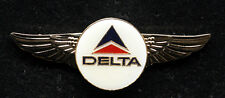 DELTA AIRLINES WING AIRLINE WINGS PILOT CREW FLIGHT ATTENDANT GIFT  PIN UP LOGO
