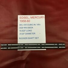 1958 EDSEL 410 V8 & 1958-60 MERCURY 383,430 V8'S NEW 2 PIECE ROCKER SHAFT SET