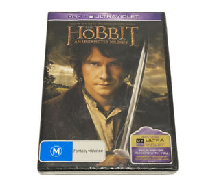 The Hobbit - An Unexpected Journey DVD Ian McKellen R4 New Sealed Free Postage