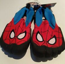 Boys Spiderman waterShoes Foot Glove  Neoprene Comfortable Swimmers Shoes 8 new