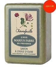 Savon de Marseille – Savonnette de 250g à l'huile d'olive, au Chèvrefeuille