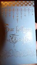 Pochette religieuse allemande souvenir de bapteme annees 30 + 15 images pieuses