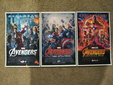 "Avengers -  (11"" x 17"") Movie Collector's Poster Prints (Set of 3)"