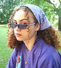 Purple retro 90s Y2K style sunglasses
