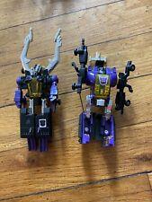 G1  Transformers Decpticon Insecticon lot Bombshell Shrapnel