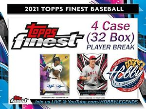 Kenta Maeda TWINS 2021 Topps FINEST 4 Case (32 Box) PLAYER BREAK