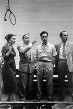 Tennessee Williams UNSIGNED photograph -L2027- With Irene Selznick & Elia Kazan