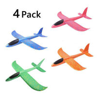 NE_ DIY Hand Launch Throwing Glider Aircraft Foam EPP Airplane Plane Model Toy F