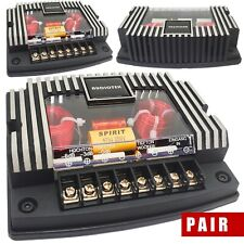 Audiotek 500W Cx3 2 Way 4 Ohm Car Audio Passive Crossover Networks (2 Pack)