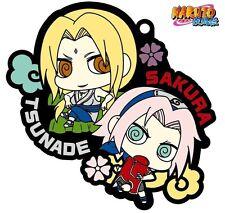 Megahouse Rubber Mascot Buddy Colle Naruto Shippuden Sakura & Tsunade Keychain
