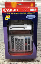 NEW Canon P23-DH III Two Color Mini Desktop Printer Calculator Free Shipping
