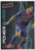2016-17 2017 Panini Aficionado Soccer Power Surge #24 Luis Suarez