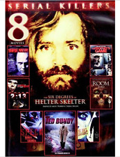 Serial Killers: 8 Movies (DVD, 2013, 2-Disc Set) Charles Manson Ted Bundy
