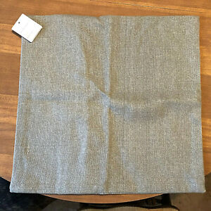 """SET of 2 NEW with Tags  Pottery Barn LENNOX Pillow Covers 18 x 18""""   GRAY"""