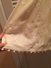 104. Anthropologie Tracy Reese Plenty Ivory Embroidered Dress 4 Folkloric