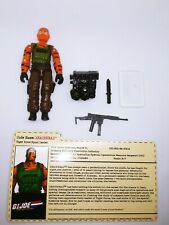 GI Joe 2004 Tiger Force Beachhead Convention Exclusive Complete with Filecard