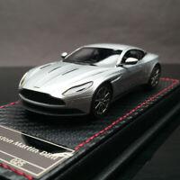 FrontiArt SophiArt 1:43 Scale Aston Martin DB11 Silver Resin Car Model Limited