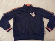 Mens Majestic 2012 World Series Jacket Navy Blue Athletic