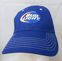 Bud Light Brewery  beer baseball cap hat adjustable snapback