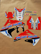 New Honda CR 85 03 04 05 06 07 FLU PTS4 Graphics Sticker Decals Kit Motocross