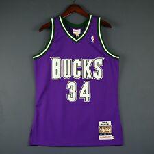 71aebdcbbd9e 100% Authentic Ray Allen Mitchell   Ness 00 01 Bucks NBA Jersey Size 40 M