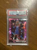2018-19 Panini Prizm Pink Ice #184 Shai Gilgeous-Alexander RC PSA 9 Clippers