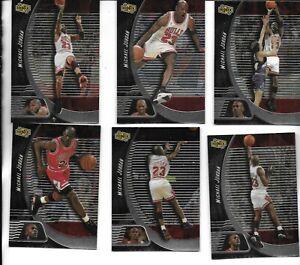 6 Card Lot Michael Jordan 1999 Upper Deck UD Ionix Cards  #1-6