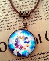 Free! Iwatobi Swim Club Anime Leather Necklace Pendant US Seller