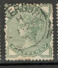 Queen Victoria - SG 164 - 1/2d. - Green - Good Condition - Lerbury