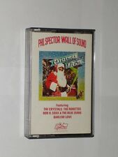 Phil Spector Wall Of Sound Christmas Album. Cassette. Paper Labels.