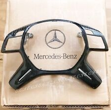 13~17 GENUINE MERCEDES STEERING WHEEL TRIM CARBON G63 G550 ML350 ML550 GL450