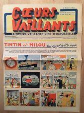HERGE - TINTIN - COEURS VAILLANTS numéro 42 ( 20 octobre 1940)