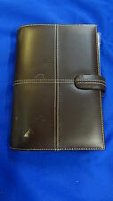<< FILOFAX Classic Organizer Organiser Personal Italian Leather >>