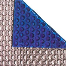 40ft x 20ft  Silver/Blue 400 Micron Swimming Pool Cover Solar Heat Retention
