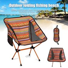 Ultra-light Folding Camp Camping Chair Outdoor Hiking  Portable Foldable Chairs