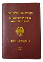 Reisepasshülle - Topqualität gutes Kunstleder - Ausweishülle Schutzhülle Ausweis